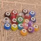 Cat Eye Gemstone Murano Acrylic Beads For Snake Charms Beads Fit Bracelets 14mm