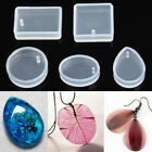 Clear Silicone Mold Making Jewelry Pendant Resin Casting Mould Diy Craft Tool