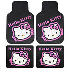 Sanrio Hello Kitty Collage Car Truck Floor Mat Steering Wheel Cover Keychain