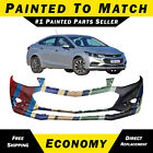 New Painted To Match - Front Bumper Replacement For 2016 2017 2018 Chevy Cruze