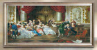 Vintage Decorative Oil Paintings Palace Printings Canvas Wall Art