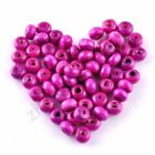 Multicolor Wood Jewelry Accessories Jewelry Making Findings Round Beads Charms