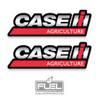 Case Ih Agriculture Premium Vinyl Decal Sticker 2 Pack - Farm Equipment Logo