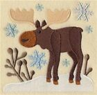 9 X 12 Embroidered Quilt Blocks - Pre Order - Wild About Winter