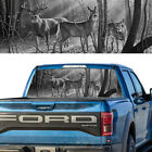 Rear Window Decal Graphic Tint Deer Family Bw