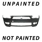 New Painted To Match - Front Bumper Replacement For 2008-2015 Mitsubishi Lancer