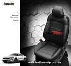 Katzkin Leather Seat Covers Kit 2015-2020 Ford Mustang Coupe Convertible Black