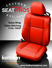 Katzkin Leather Seat Covers Kit 2015-2020 Dodge Challenger Salsa Red