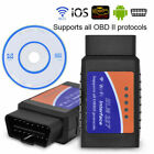 Mini Elm327 Wifi Bluetooth Obd2 Car Diagnostic Scanner For Ios Android Pc