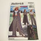 Butterick Sewing Pattern 6857 Glamour Collection Summer Dress Top Pants Uncut