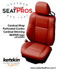 Katzkin Leather Seat Covers Kit 2015-2021 Dodge Challenger Cardinal Mopar Logo