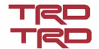 Toyota Trd Decal Stickers Set Of 2