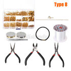 Diy Jewelry Making Set Jewelry Supplies For Bracelet Earring Necklace Kits Gift