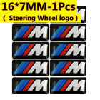 2-4 Pcs Set Fit For Bmw M 3d Sticker Steering Wheel Lighter Cell Phone Sticker