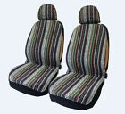 Vintage Style Print Universal Car Seat Covers Full Set Auto Truck Suv Seat Cover