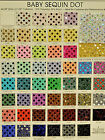 Confetti Sequin Disco Dot Knit Fabric Skate Pageant Dance Cheer Bows