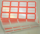 Folder File Self Adhesive Sticker Labels 1-12x 2-116 For Document Lot 122