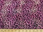 Leopard Cheetah Velboa Faux Fur Fabric By The Yard 17 Colors Available