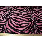 Zebra Velboa Faux Fur Fabric By The Yard 10 Colors Available