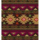 Premium Anti Pill Southwest Aztec Polar Fleece No Sew Tie Blanket Scarf Fabric
