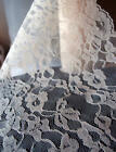 14 Wide X 10 Yards Floral Pattern Lace Chantilly Trim For Bridal Fabric Choose