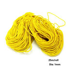 25m 1mm Strong Stretch Elastic Cord Wire Rope Bracelet Necklace String Bead