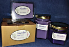 New Hand Poured Flower Floral Scents Soy Candles Tarts Votives - Heather