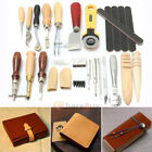 71824pc Vintage Leather Craft Tools Kit Stitching Sewing Beveler Punch Working