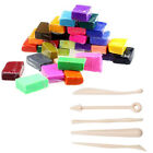5 Tools32 Colors Polymer Clay Fimo Block Modelling Moulding Sculpey Diy Kid Toy