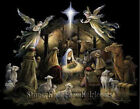 Baby Jesus Is Born The Nativity Christmas Diy Counted Cross Stitch Pattern