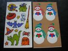 Frances Meyer X2 Stickers Vintage Any Occasion Rare Sets Out Of Print 2 Sheets