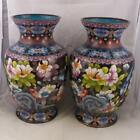 Cloisonn  Vases 19th Century   Pair  Large  Standing 12  China