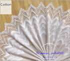 1ydembroidery Flower Cotton Lace Trim 31cm 12 Wide Fabric Sewing Crafts Fl257