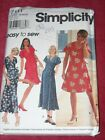 Simplicity 7111 - Ladies Front Wrap Dress - Top Skirt Pattern 16-20 Ff