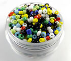 Czech 22g 2mm3mm4mm Round Lot Colorful Glass Seed Beads Diy Jewelry Making