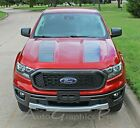 2019 2020 Ford Ranger Hood Stripes Decals Nomad Hood Vinyl Graphics Kits