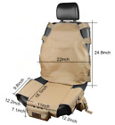 Universal Tactical Molle Car Seat Cover Protector With Storage Bags Jeep Truck