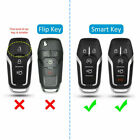 Car Remote Car Key Fob Case Cover Bag Fit For Ford F-150 Explorer Fusion Mustang