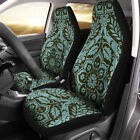Vintage Flower Car Seat Covers Pair Of Seat Covers For Vehicle