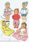 Vintage Baby Doll Clothing Pattern 8125