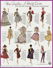 For Miss Seventeen Fashion Doll Patterns Set