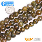 Colorful Dragon Veins Agate Gemstone Faceted Round Beads Free Shipping 6mm 8mm