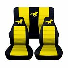 2005-2007 Ford Mustang Convertible Horse Seat Covers. Choose Your Colors