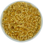 Gold Silver Plated Open Metal Jump Rings Findings Diy For Jewelry Making