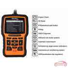 Foxwell Nt510 Auto Obd2 Diagnostic Scanner Car Code Reader Airbag Abs Srs Epb Us