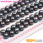 8mm-12 8mm 30 Pairs Aaa Half Drilled Freshwater Pearls Beads For Earrings Stud