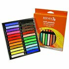 Reeves Soft Pastels - 24 Or 36 Piece Sets
