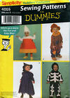 Costumes Sewing Patterns Kids Childrens Toddlers Infants Your Choice
