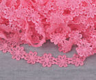 15yard Colorful Flower Embroidered Lace Trim Ribbon Applique Diy Sewing Craft