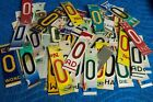 Mixed Color License Plate Letters For Arts Crafts Projects Signs Bar Mancave